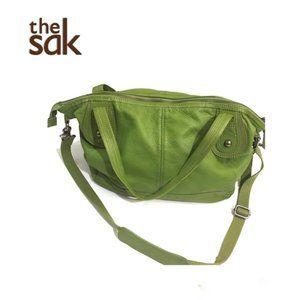 The Sak Leather Bag W Removable Crossbody Strap